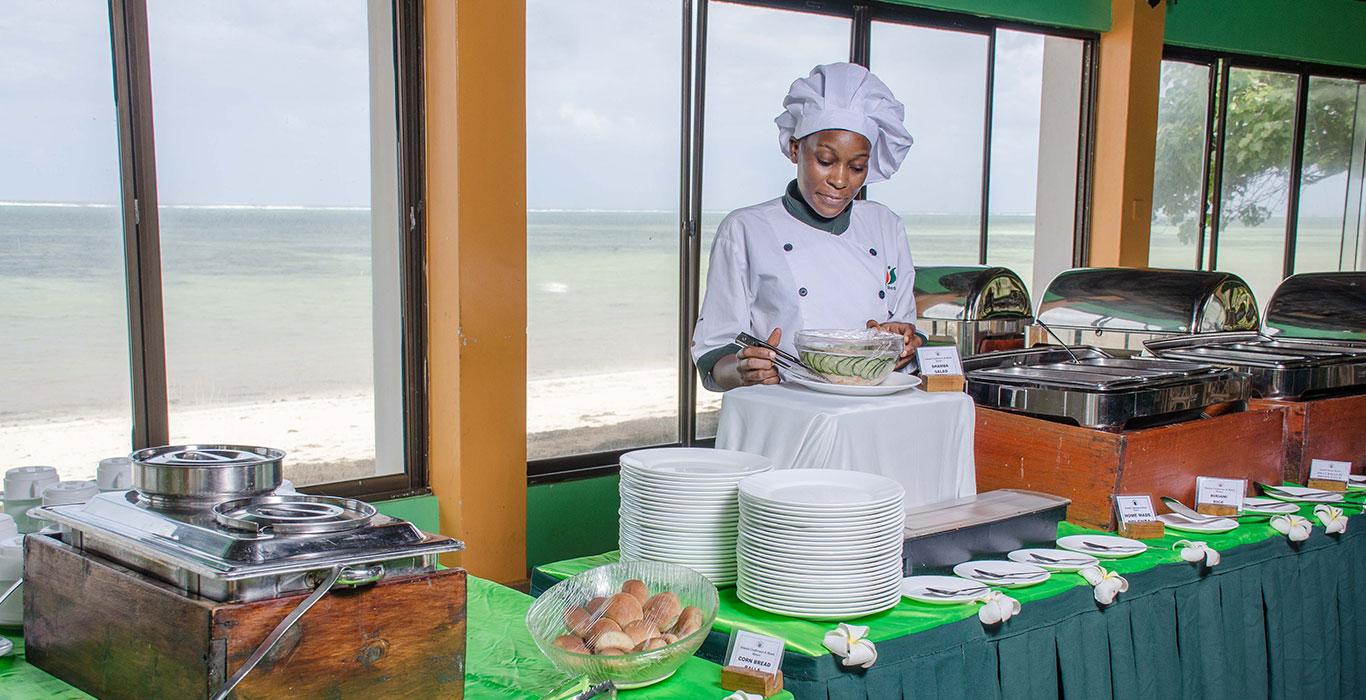 Jumuia Beach Resort Kanamai Culinary Services